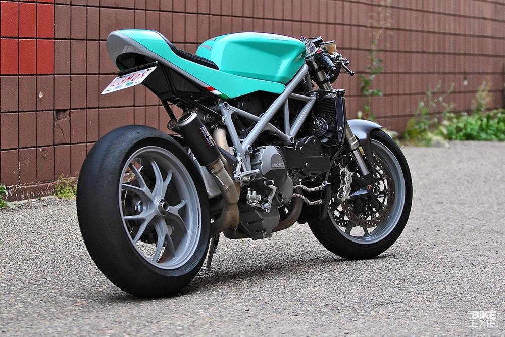 Кафе рейсер Ducati 848 Can-Am