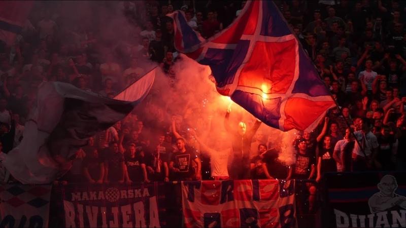 HR: Dinamo Zagreb - Hajduk Split [Fans, Pyro]. 2019-05-26