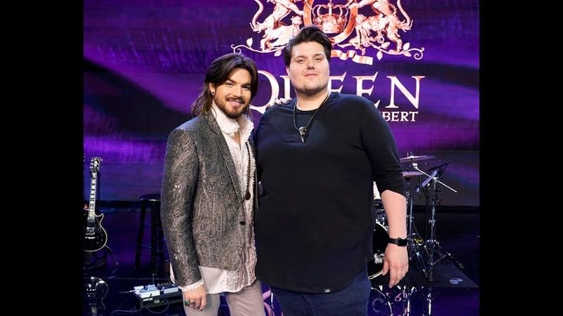 American Idol 2019 Queen - Adam Lambert Mentors Wade Cota