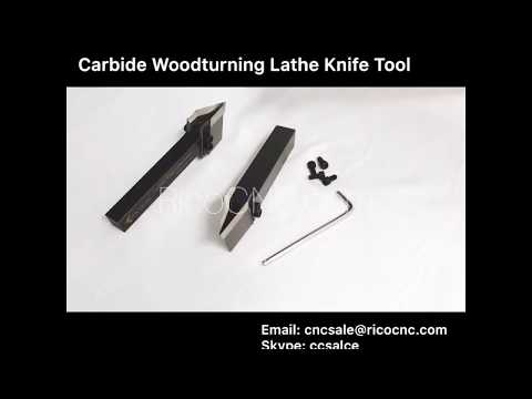 Durable use carbide woodturning lathe cutter tools