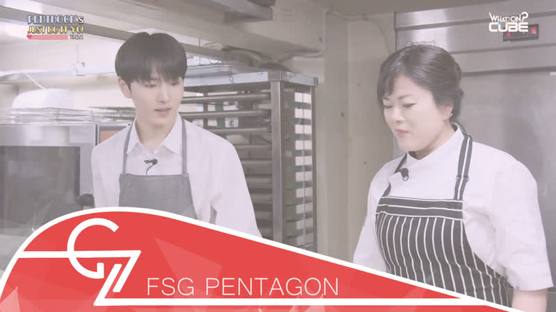 [RUS SUB][160718] Kino (PENTAGON) learns how to cook Part 1 (JUST DO IT YO! Ep.3)