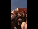 Красная площадь отмечает победу России над Испанией на ЧМ-2018
