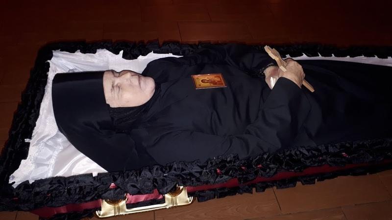 Погребение инокини Христины
