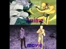 Наруто и Саске против Момошики movie vs anime