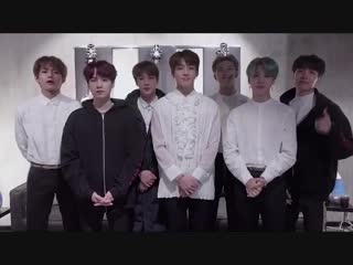 "181101 BTS wish ""The Return Of Superman"" a Happy 5th Anniversary"