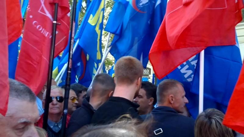 г.Брянск КПРФ против Едроссов.