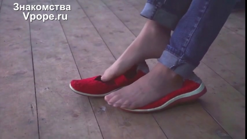 Shoeplay in ballet flats and candid nylon feet (Ножки, Фетиш, Фут, Foot, Fetish, Чулки, Legs, Секси)