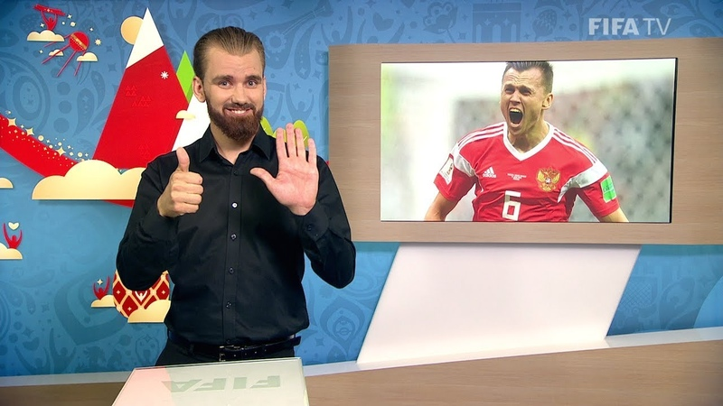 FIFA WC 2018 RUS vs KSA for Deaf and Hard of Hearing International Sign