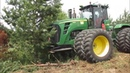 Extreme Tractor Tree Ploughing Forest Field Root Plow Brush Clearing