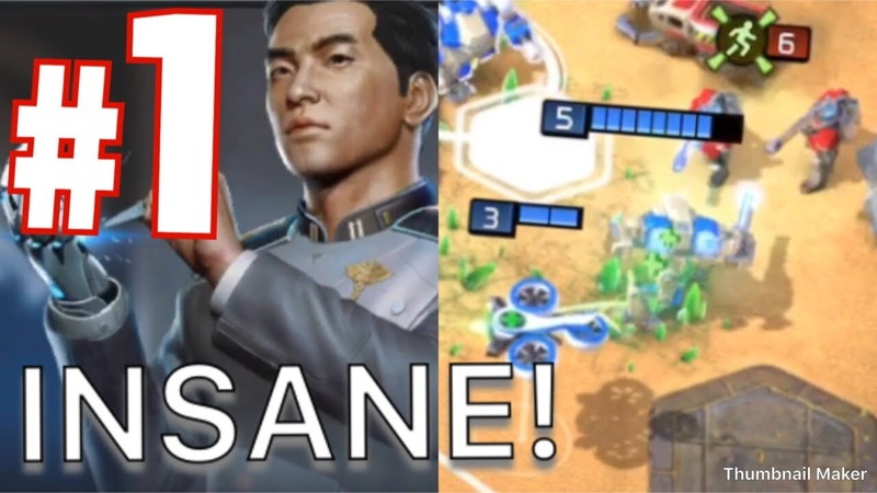 Command and Conquer: Rivals INSANE TITAN FALL WITH DR LIANG DESTRUCTION