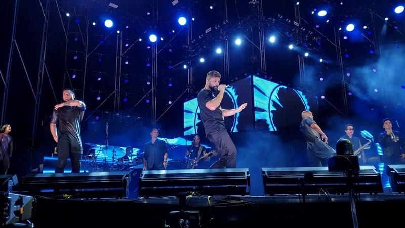 Ricky Martin concierto live en Cádiz - DROP IT ON ME / SHAKE YOUR BON-BON 31.8.18 (1.fila front row)