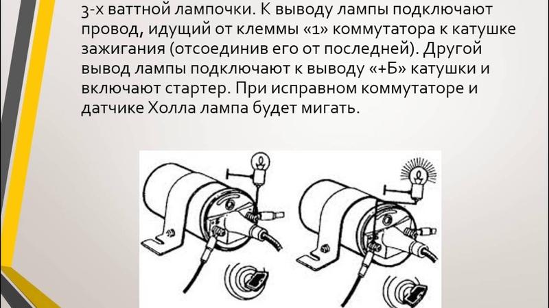 Булахтин В С ДирСПА урок 13 Диагностика и ТО бесконтактной системы зажигания и инжекторных систем т