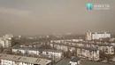 Пылевое облако над Тирасполем