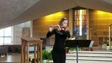 G. Ph. Telemann - Fantasy for flute solo in C. Lopushanskaya A-M.