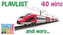TRAINS | Trains For Children. Trains And More Playlist. 40 mins. Preschool Learning.