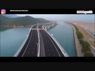55 километров за девять лет и 20 миллиардов долларов. Китай построил самый длинный в мире морской мост