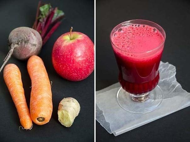 Чудесный овощной напиток для оздоровления