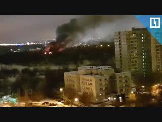 Пожар в логове «Ночных волков»