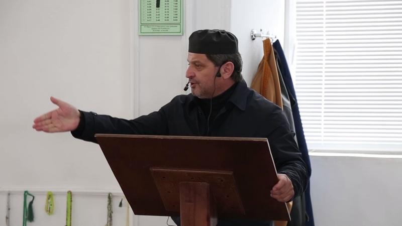 Шейх Хусейн Афанди проповед оберегания от огня себя,и свою семью