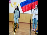 Евгения Гончарова и Таисия Эутваль( мои дорогие ученицы, участницы вокальной студии