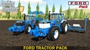 Farming Simulator 19 - FORD PACK Plowing and Cultivation of the Field