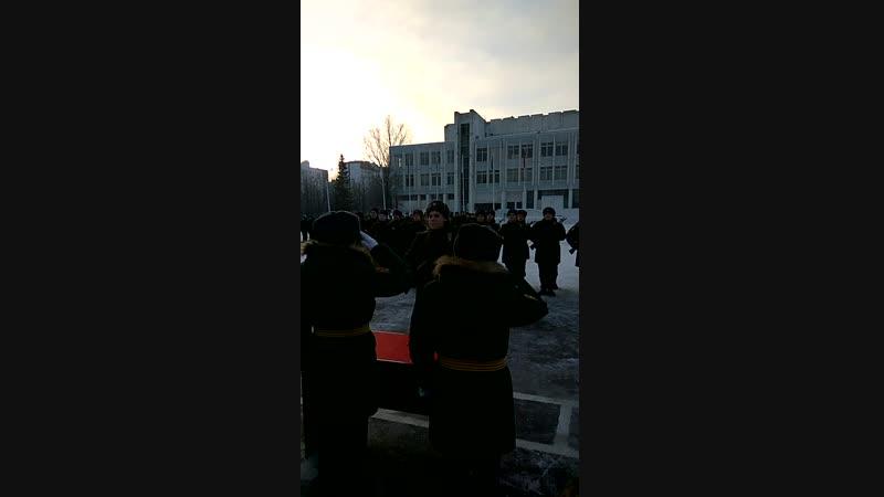 Москва 16.12.2018. присяга 🏰
