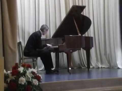 Брамс - Интермеццо b-moll, op. 117 no. 2 (Евгений Соловьёв)