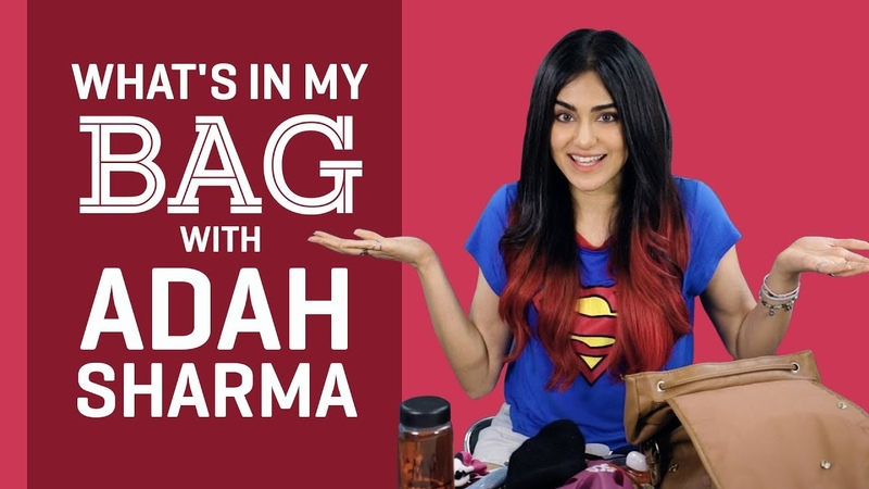 Whats in my bag with Adah Sharma | Pinkvilla | S01E03 | Bollywood | Lifestyle