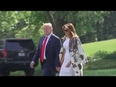 ALL SMILES: President Trump and Melania Trump After Mueller Report Release
