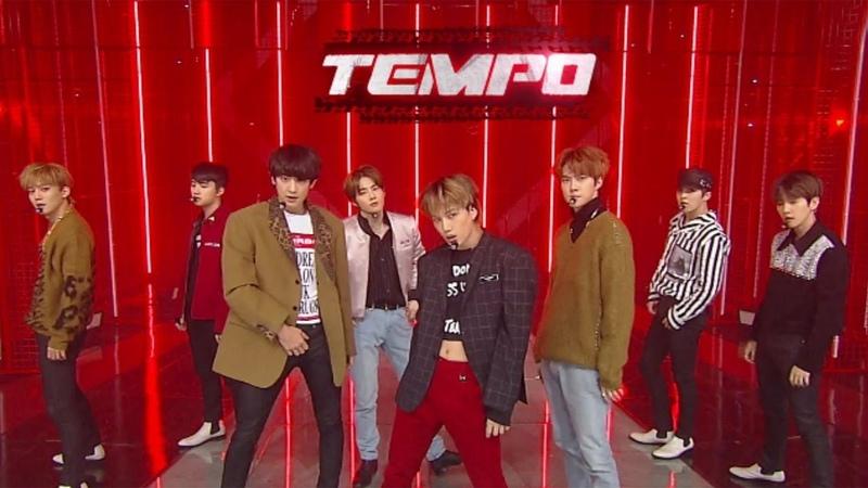 EXO(엑소) - Tempo(템포) @인기가요 Inkigayo 20181111