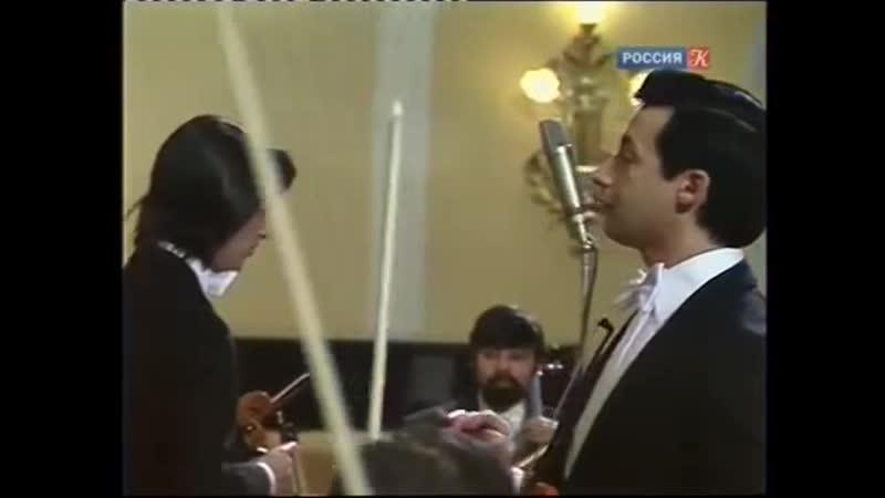 В. Спиваков и Ю. Башмет - В. А. Моцарт. Концертная симфония Es-dur K.364. БЗМК, 1983 г.