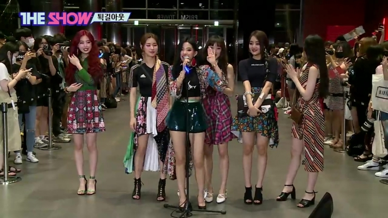(G)I-DLE, The show ; On way out! (180821)