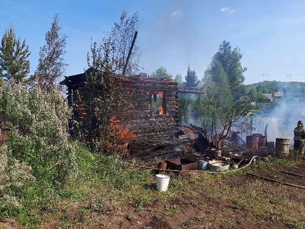 Пожар 30 июня в СДК «Строитель»