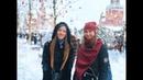 Girls sing in Red Square. Beloe Zlato