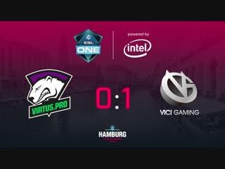 Virtus.pro 0:1 Vici Gaming. bo3