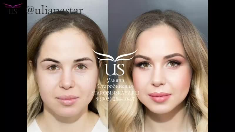 Минеральный макияж для Кати
