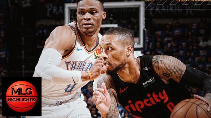 Oklahoma City Thunder vs Portland Trail Blazers - Game 4 - Full Game Highlights | 2019 NBA Playoffs