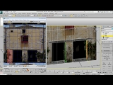 Modeling Facades in 3ds Max - Part 5 - Correcting Texture Errors