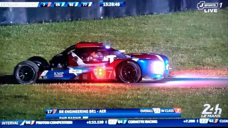 ル・マン 2018 24時間耐久 17号車クラッシュLe Mans SMP racing NO.17 crash