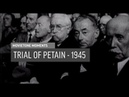 Trial of Petain 1945 Movietone Moment 26 Apr 19