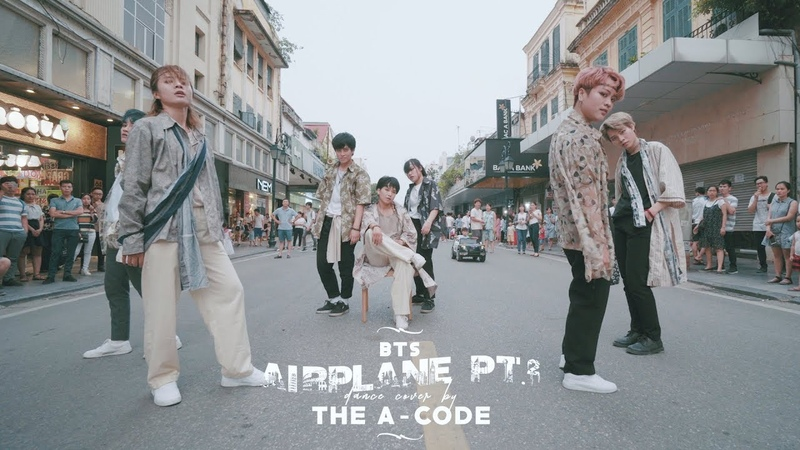 [K-POP IN PUBLIC] AIRPLANE pt.2 - BTS (방탄소년단) dance cover   The A-code from Vietnam