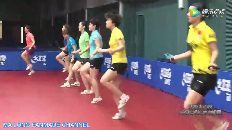Training Method of China National Women's Team