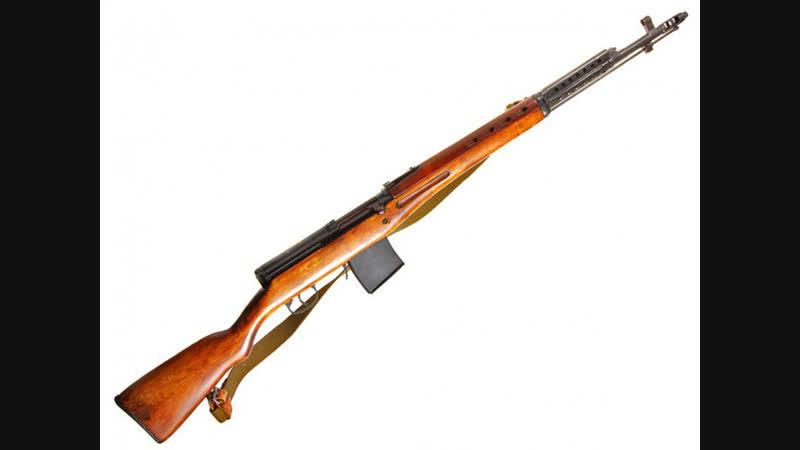 Самозарядная винтовка Токарева СВТ-40.