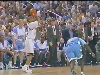 Randolph childress tells jeff mcinnis to get up after breaking his ankles!