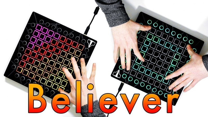 Imagine Dragons - BELIEVER Launchpad Remix Ft. NSG Romy Wave