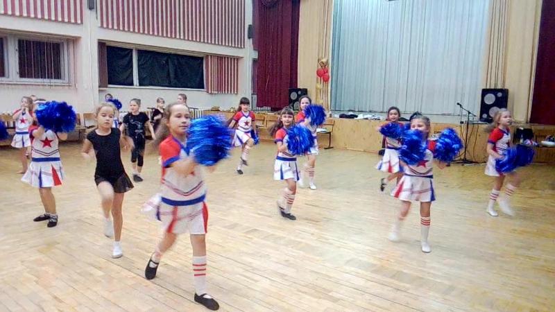 Наше новое направление в танцах - черлиденг перфоманс
