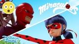 Miraculous Ladybug Ladybug vs Hawk Moth Disney Channel UK