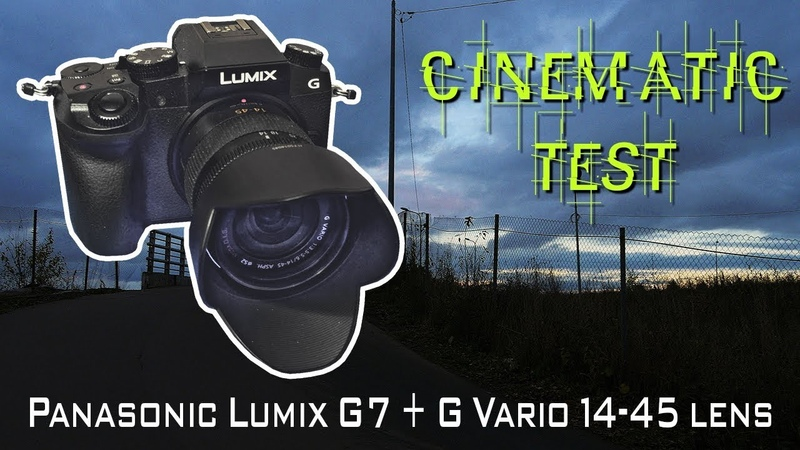 Panasonic Lumix G7 cinematic тест - роик для моего YouTube канала