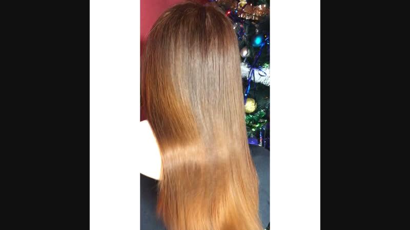 Ботокс волос подравнивание