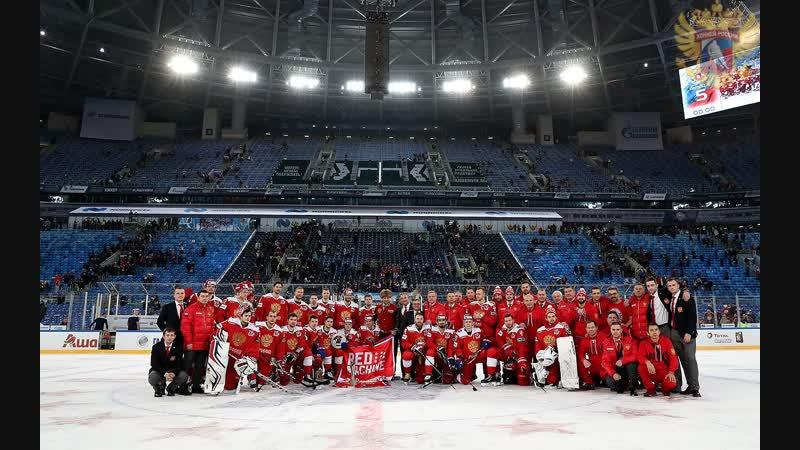 Кубок Первого канала, Россия - Финляндия